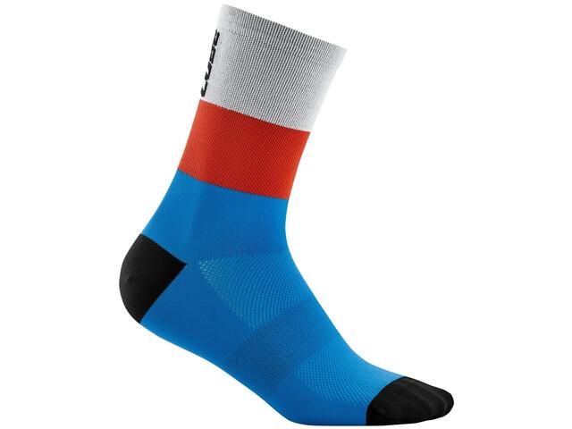 Cube Teamline High Cut Socks, blue´n´red´n´grey